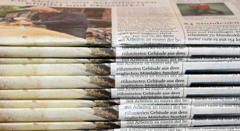 Newspapers banner image.
