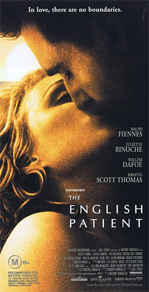 English Patient film poster.