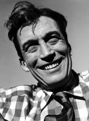 John Huston (1906-1987), American and Irish film director, screenwriter, actor, and artist.