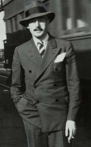 Dashiell Hammett (1894-1961), American author, screenwriter, and political activist.  One of the originators of 'hard-boiled' detective fiction.