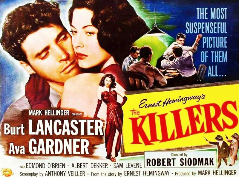 The Killers film poster.