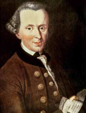 Immanuel Kant painting.