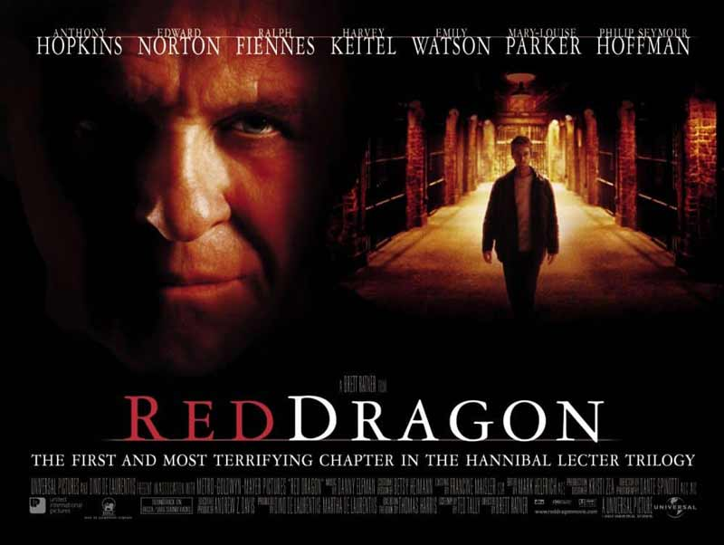 Red Dragon film poster.