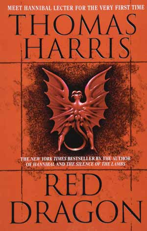 Red dragon book cover.