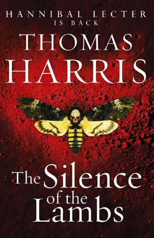 Silence of the Lambs book cover.
