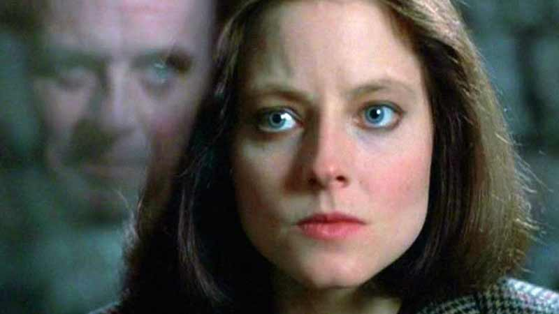 Starling at the prison.  Startling scenes of a madman masturbating, throwing his seed at her, and then being talked into swallowing his own tongue with words alone by the monstrous Lecter.  A perverse new meaning for speaking in tongues?