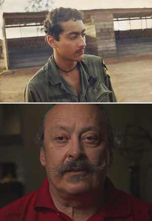 Ron Ferrizzi, then and now.