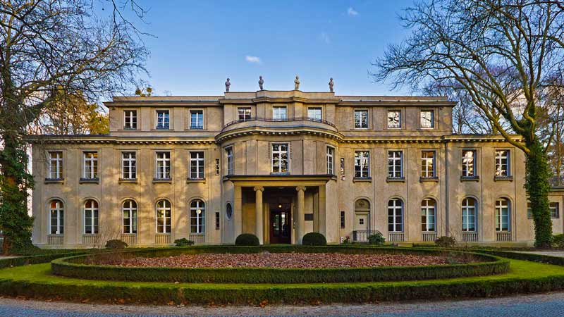 The Wannsee house.