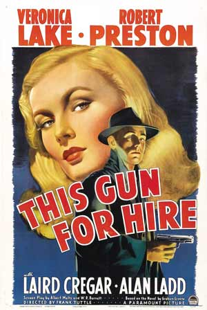 This Gun for Hire film poster.