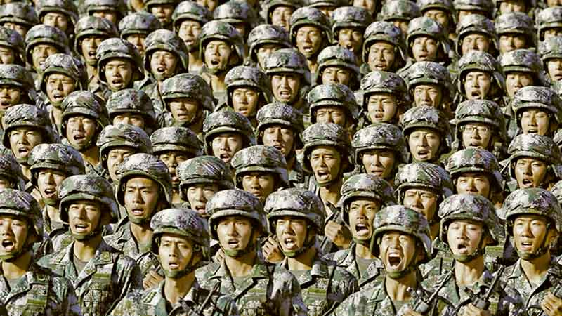 We would have less to fear from the Chinese if we were not, ourselves, on the path to totalitarianism.