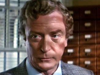 Michael Caine banner.