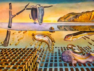Detail from Salvador Dali's 'The Disintegration of the Persistence of Memory' (1952–1954).